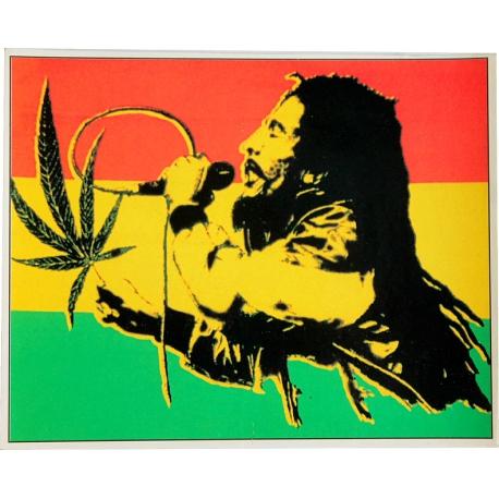 Autocollant Bob Marley chantant