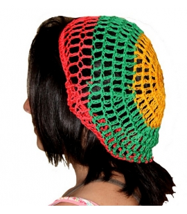 Bonnet filet rasta