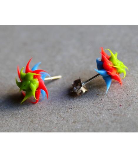 Mini boucles d'oreilles