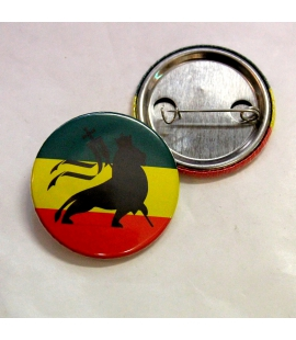 Badge Rasta Lion de Judah