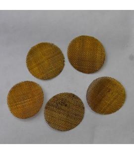 Grilles filtre en acier souple 2 cm