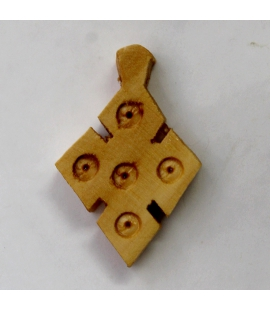 Croix éthiopienne en bois