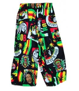Pantacourt bermuda Bob Marley