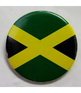 Badge drapeau jamaïcain