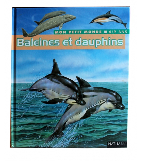 Baleines et dauphins 6-9 ans
