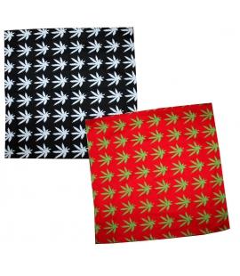 Bandana drapeau feuilles