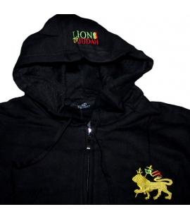 Veste sweat zippé Lion de Juda
