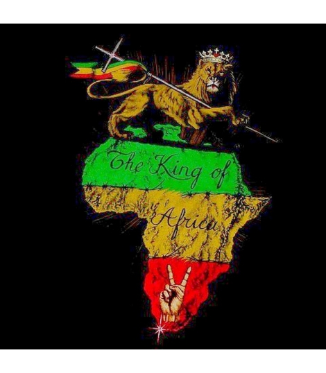 T-shirt Lion of Judah King of Africa