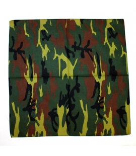 Bandana armée camouflage clair