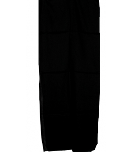 Véritable turban Touareg noir