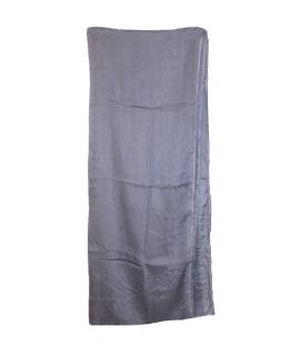 Véritable turban Touareg gris bleu