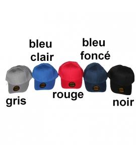 Choix de couleurs casquette réglable