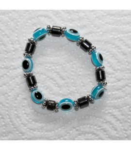 Bracelet œil bleu protecteur