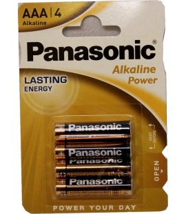 Piles AAA Panasonic Alkaline Power