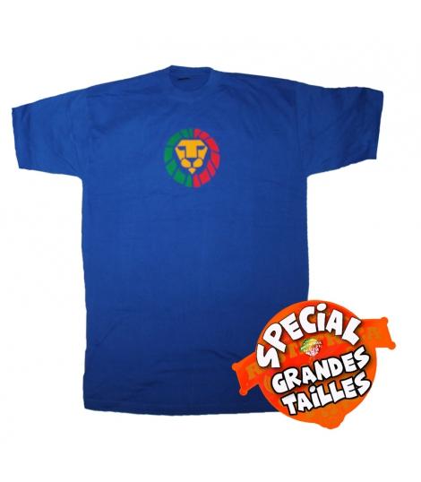 T-shirt Rasta bleu