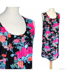 Robe tunique fleurs