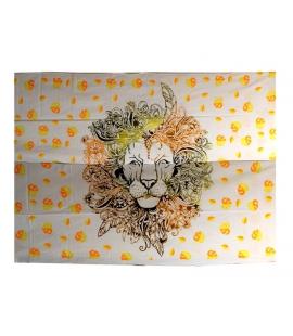 Tenture lion
