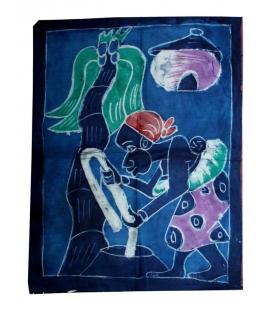 Batik africain du Burkina-Faso