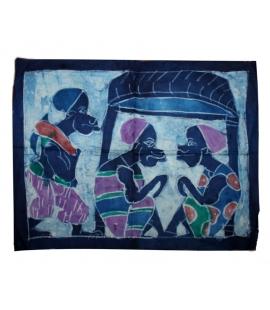 Batik tissu africain