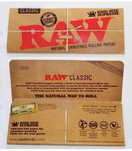 Supreme Raw King size slim