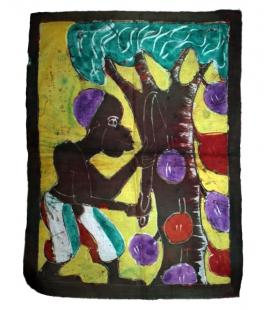 Batik tissu artisanat Afrique