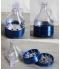 Grinder bleu bouteille