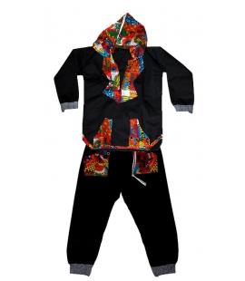Ensemble africain enfant quatre ans tunique pantalon