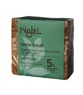 Savon Alep 5% huile baies de laurier