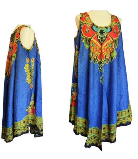 Robe bleue large