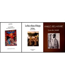 Lot 3 livres Ras Tafari
