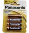 Piles AA Panasonic Alkaline Power
