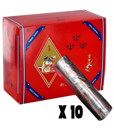 boîte de 10 charbon Three Kings