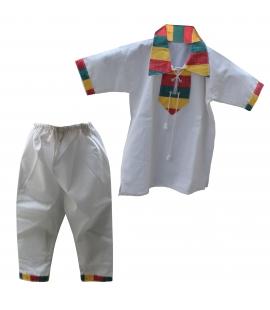 Vetement Ethiopie enfant pantalon et tunique