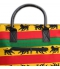 Grand sac Rasta Lion de Juda detail