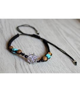 Bracelet gouvernail adaptable