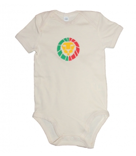 Body BB rasta Lion coton Bio