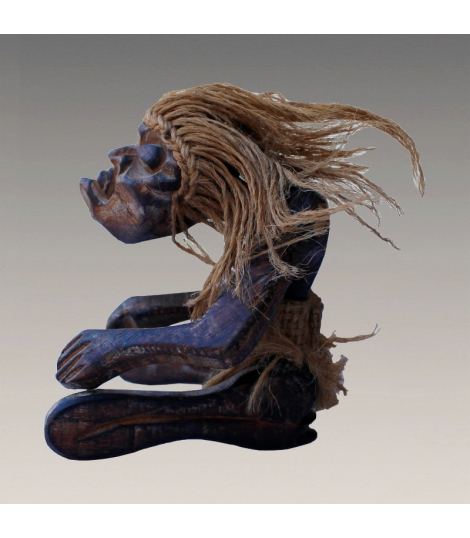 Statuette indonésienne artisanale