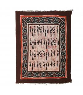 Grand tissu batik du Zimbabwe