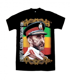 T-shirt coton Selassie Imperial Majesty