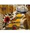 Grand coupon Wax Cote d' Ivoire tissu