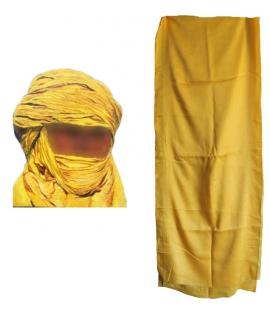 Turban Touareg Cheche jaune turban Rasta