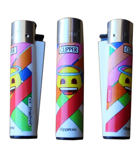 Briquet Clipper smiley