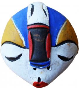 Masque africain décoratif dit passeport