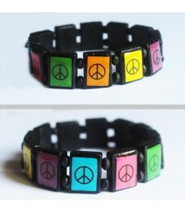 Bracelet elastique Peace