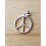 Pendentif argent Peace Paix