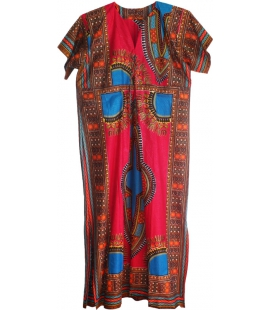 Grande Robe africaine wax
