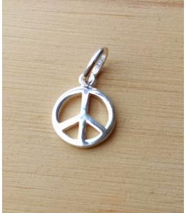 Mini Pendentif argent Peace Paix