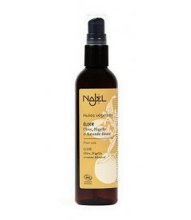 Elixir olive bio nigelle bio amande douce bio