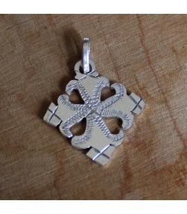 Croix ethiopienne orthodoxe en argent