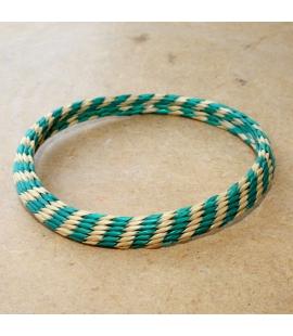 Bracelet africain artisanat en raphia